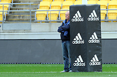 Wellington-Rugby, Argentina captains run
