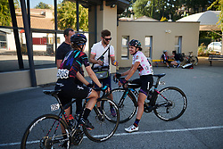 Kasia Niewiadoma (POL) catches up with her team at Tour Cycliste Féminin International de l'Ardèche 2018 - Stage 6, a 113.7km road race from Savasse to Montboucher sur Jabron, France on September 17, 2018. Photo by Sean Robinson/velofocus.com