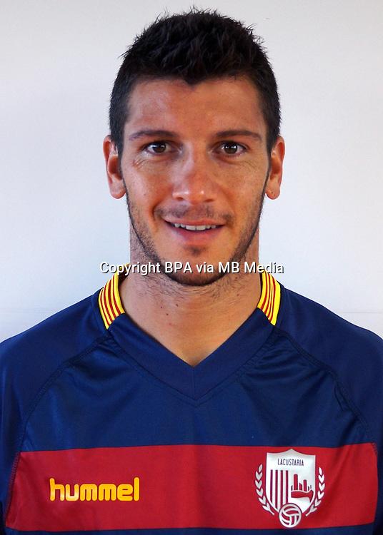 Spain - La Liga Adelante 2015-2016 / <br /> ( U.E. Llagostera ) - <br /> Aimar Moratalla Botifoll