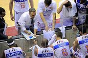 DESCRIZIONE : Milano Coppa Italia Final Eight 2014 SemiFinale Montepaschi Siena Enel Brindisi <br /> GIOCATORE : Piero Bucchi<br /> CATEGORIA : coach schema allenatori coach<br /> SQUADRA : Enel Brindisi <br /> EVENTO : Beko Coppa Italia Final Eight 2014 <br /> GARA : Montepaschi Siena Enel Brindisi <br /> DATA : 08/02/2014 <br /> SPORT : Pallacanestro <br /> AUTORE : Agenzia Ciamillo-Castoria/N.Dalla Mura <br /> GALLERIA : Lega Basket Final Eight Coppa Italia 2014 <br /> FOTONOTIZIA : Milano Coppa Italia Final Eight 2014 Semifinale Montepaschi Siena Enel Brindisi