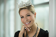 11/17/14 11:19:57 AM -- McLean, VA, U.S.A  -- Miss America Kira Kazantsev visits USA TODAY.  --    Photo by H. Darr Beiser, USA TODAY Staff ORG XMIT:  HB 132082 Miss America 11/17/20 [Via MerlinFTP Drop]