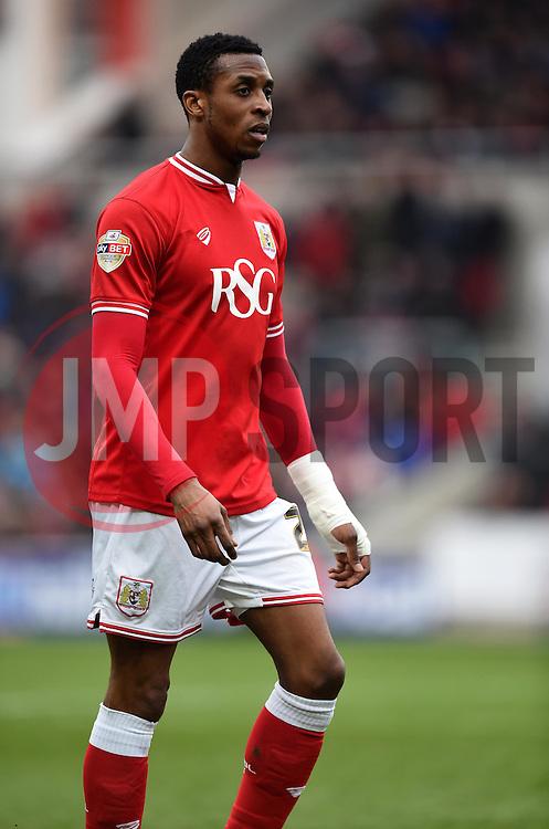 Jonathan Kodjia of Bristol City - Mandatory by-line: Paul Knight/JMP - Mobile: 07966 386802 - 19/03/2016 -  FOOTBALL - Ashton Gate Stadium - Bristol, England -  Bristol City v Bolton Wanderers - Sky Bet Championship