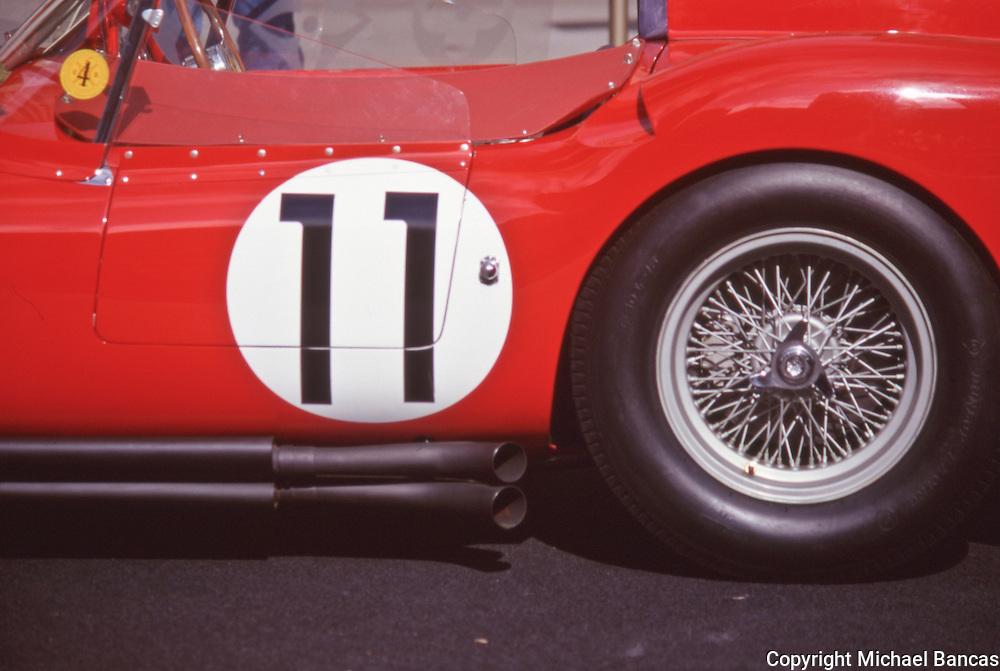 Vintage Racing Ferrari at Rockefeller Center Car Show