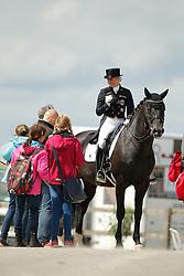 jVon Bredow-Werndl Jessica, (GER), Unee BB <br /> Grand Prix<br /> CDIO Hagen 2015<br /> © Hippo Foto - Stefan Lafrentz<br /> 09/07/15