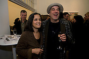 MR. AND MRS. RON ARAD, Whitechapel celebrates its expansion into the building next door with an opening party. London. 2 April  2009