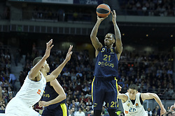 March 2, 2018 - Madrid, Madrid, Spain - NUNNALLY  JAMES of Fenerbahce Dogus in action  during the Turkish Airlines Euroleague basketball match between Real Madrid and Fenerbahce Dogus at the Wizink Center in Madrid, Spain on March 2, 2018. Photo: Oscar Gonzalez/NurPhoto  (Credit Image: © Oscar Gonzalez/NurPhoto via ZUMA Press)