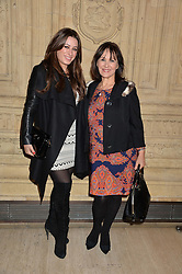 Left to right, ALANA PHILLIPS and ARLENE PHILLIPS  at the opening night of Cirque du Soleil's award-winning production of Quidam at the Royal Albert Hall, London on 7th January 2014.
