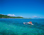 Matira Beach, Bora Bora, French Polynesia<br />
