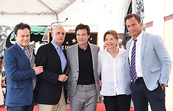 Julia Garner, Jason Butler Harner, Jason Bateman, Sofia Hublitz attend Jason Bateman's Hollywood Walk of Fame Star ceremony. 26 Jul 2017 Pictured: Mitchell Hurwitz, Jeffrey Tambor, Jason Bateman, Jessica Walter and Will Arnett. Photo credit: O'Connor / AFF-USA.com / MEGA TheMegaAgency.com +1 888 505 6342