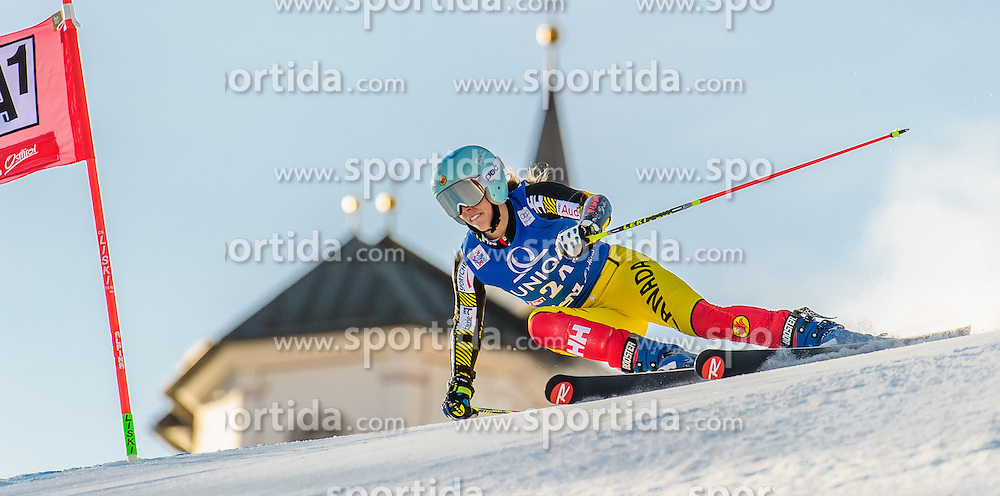 28.12.2015, Hochstein, Lienz, AUT, FIS Ski Weltcup, Lienz, Riesenslalom, Damen, 1. Durchgang, im Bild Marie-Michele Gagnon (CAN) // Marie-Michele Gagnon of Canada during 1st run of ladies Giant Slalom of the Lienz FIS Ski Alpine World Cup at the Hochstein in Lienz, Austria on 2015/12/28. EXPA Pictures © 2015, PhotoCredit: EXPA/ Michael Gruber