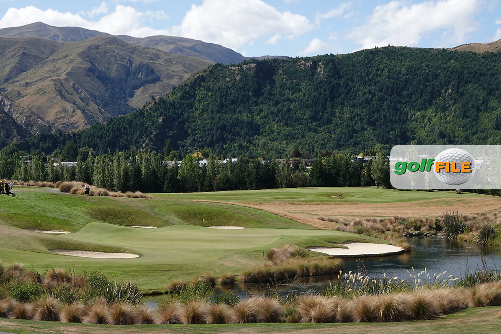 A general view of the 4th hole at the Hills Club during the second round of the New Zealand Open 2020, Millbrook Resort, Queenstown, New Zealand. 27/02/2020<br /> Picture: Golffile | Phil Inglis<br /> <br /> <br /> All photo usage must carry mandatory copyright credit (© Golffile | Phil Inglis)