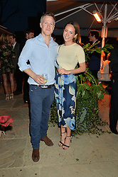 PICTURE SHOWS:-JAMIE RICHARDS and LAVINIA BRENNAN.<br /> Tuesday 14th April 2015 saw a host of London influencers and VIP faces gather together to celebrate the launch of The Ivy Chelsea Garden. Live entertainment was provided by jazz-trio The Blind Tigers, whilst guests enjoyed Moët & Chandon Champagne, alongside a series of delicious canapés created by the restaurant's Executive Chef, Sean Burbidge.<br /> The evening showcased The Ivy Chelsea Garden to two hundred VIPs and Chelsea<br /> residents, inviting guests to preview the restaurant and gardens which marry<br /> approachable sophistication and familiar luxury with an underlying feeling of glamour and theatre. The Ivy Chelsea Garden's interiors have been designed by Martin Brudnizki Design Studio, and cleverly combine vintage with luxury, resulting in a space that is both alluring and down-to-earth.
