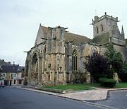France, Normandy.  Dives sur Mer.  Eglise Notre-Dame.