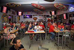 LOS ANGELES, USA - Tuesday, July 26, 2016: Liverpool supporters during an Anfield Wrap live podcast on day six of Liverpool FC's USA Pre-season Tour. (Pic by David Rawcliffe/Propaganda)