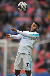 RAHEEM STERLING  MANCHESTER CITY, Liverpool FC v Manchester City FC Capital One Cup Final, Wembley Stadium, Sunday 28th Febuary 2016