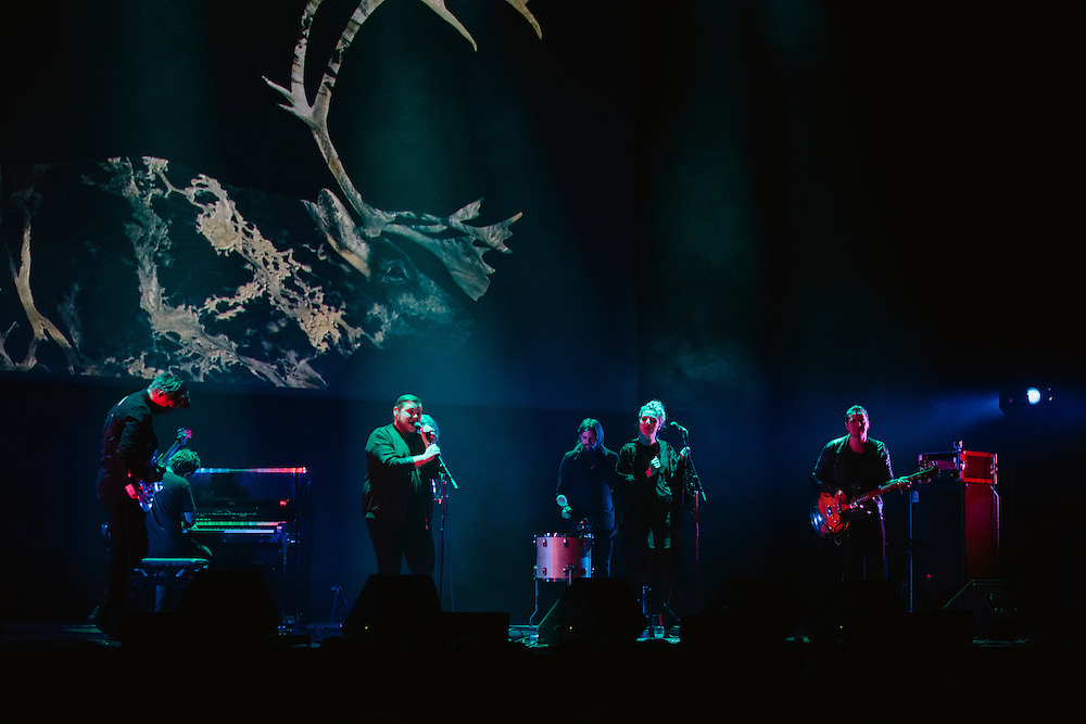 Photos of the Icelandic band Of Monsters And Men performing live for 'Stopp - Let's Protect the Park' nature benefit concert at Harpa concert hall in Reykjavík, Iceland. March 18, 2014. Copyright © 2014 Matthew Eisman. All Rights Reserved