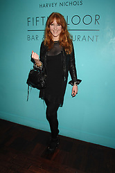 CHARLOTTE TILBURY at a dinner in honour of Francisco Costa of Calvin Klein hosted by Vogue at the Fifth Floor restaurant, Harvey Nichols, London on 28th March 2007.<br />