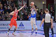 DESCRIZIONE : Campionato 2015/16 Serie A Beko Dinamo Banco di Sardegna Sassari - Grissin Bon Reggio Emilia<br /> GIOCATORE : Brian Sacchetti<br /> CATEGORIA : Tiro Tre Punti Three Point Controcampo Ritardo<br /> SQUADRA : Dinamo Banco di Sardegna Sassari<br /> EVENTO : LegaBasket Serie A Beko 2015/2016<br /> GARA : Dinamo Banco di Sardegna Sassari - Grissin Bon Reggio Emilia<br /> DATA : 23/12/2015<br /> SPORT : Pallacanestro <br /> AUTORE : Agenzia Ciamillo-Castoria/L.Canu