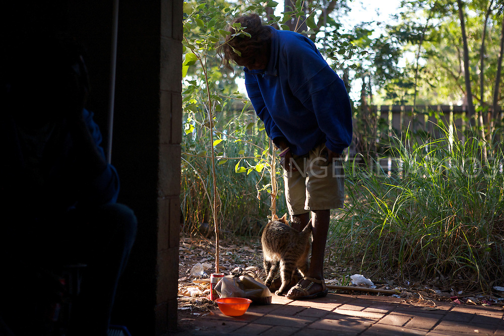 Homeless in Broome in 2012