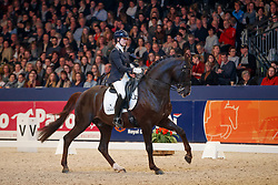 Loos Franka, NED, Giovanni<br /> KWPN Stallionshow - 's Hertogenbosch 2018<br /> © Hippo Foto - Dirk Caremans<br /> 02/02/2018