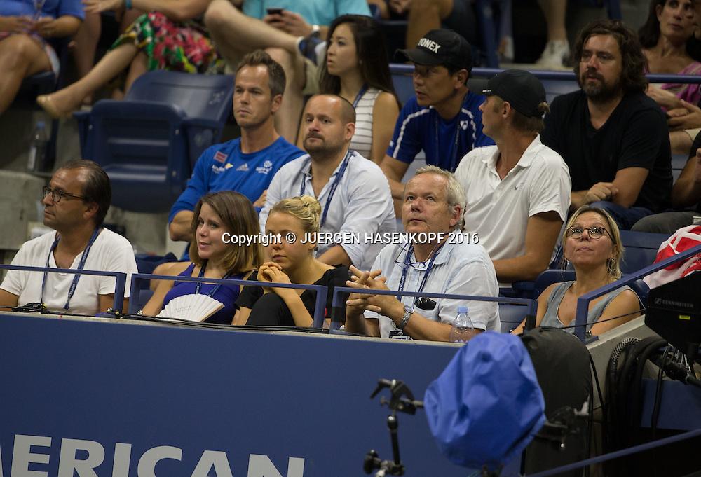STAN WAWRINKA TEAM,<br /> <br /> Tennis - US Open 2016 - Grand Slam ITF / ATP / WTA -  USTA Billie Jean King National Tennis Center - New York - New York - USA  - 9 September 2016.
