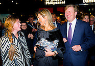 King Willem-Alexander and Máxima attend Her Majesty Queen Friday November 21, 2014 the anniversary c