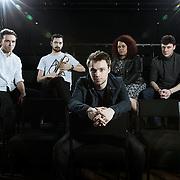 Band Portrait taken at CLF Cafe, Peckham