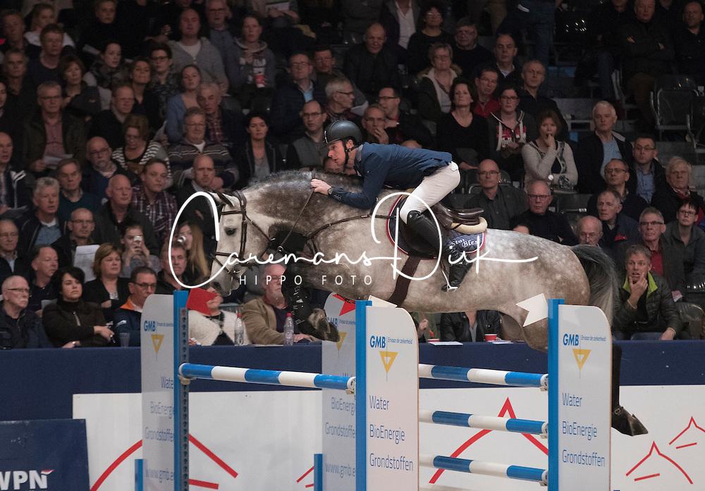 Bles Bart, NED, Freedom<br /> Springen Klasse Z-ZZ <br /> KWPN Hengstenkeuring 2017<br /> © Dirk Caremans<br /> 02/02/17