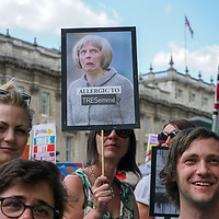 Protest against THERESA MAY