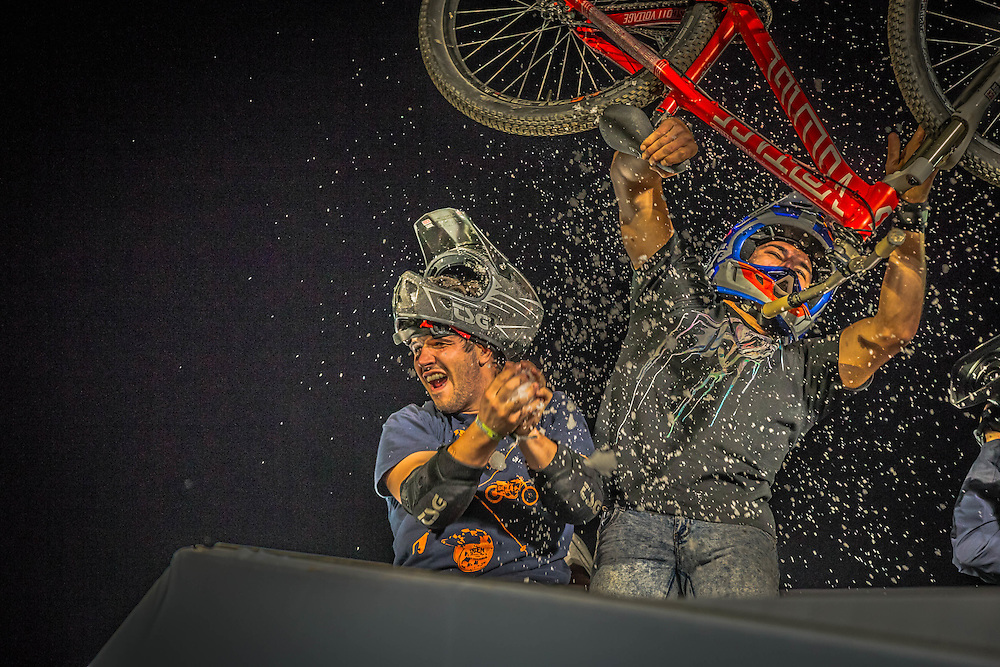 BMX Winning Team at Freestyle 2014 in Zurich