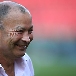 Eddie Jones (Head Coach) of England during the 2018 Castle Lager Incoming Series 1st Test match between South Africa and England at Emirates Airline Park,<br /> Johannesburg.South Africa. 09,06,2018 Photo by (Steve Haag Sports)