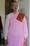 Daily routine in the Mahasi Sasana Yeiktha centre: Burmese nun -  Thilashin