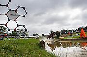 Sam Griffiths, (AUS), Paulank Brockagh - Eventing Cross Country test- Alltech FEI World Equestrian Games™ 2014 - Normandy, France.<br /> © Hippo Foto Team - Dirk Caremans<br /> 30/08/14