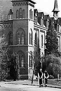 Nederland, 1984Serie mbt geestelijk leven in Nederland. Klooster de Koningshoeve Berkel Enschot , brouwerij Trappist bier, la Trappe .Foto: Flip Franssen
