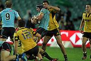 Jono Jenkins. Waratahs v Hurricanes. 2012 Super Rugby round 15 match. Allianz Stadium, Sydney Australia on Saturday 2 June 2012. Photo: Clay Cross / photosport.co.nz