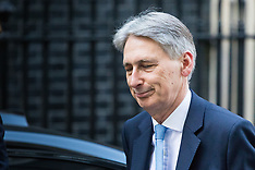 2017-03-15 Humiliated Philip Hammond returns to 11 Downing Street following U-Turn onNI increases.