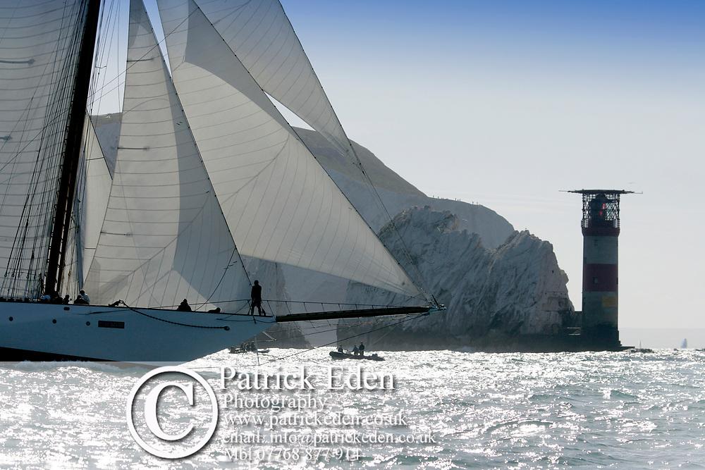 2015, Round the Island Race, Eleanora, J P Morgan Round the Island Race, Eleonora, Cowes, Isle of Wight, UK, Sports Photography