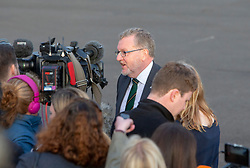 President Donald J. Trump and First Lady Melania Trump and Air Force One Arrival Glasgow, United Kingdom. David Mundell.