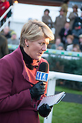 CLARE BALDING, Hennessy Gold Cup, The Racecourse Newbury. 30 November 2013.