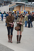 MRS. HELEN WOOLSTENHULME; MISS LUCINDA WOOLSTENHULME, The Cheltenham Festival Ladies Day. Cheltenham Spa. 11 March 2015