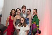 Fernanda Oliveira, Tamara Rojo, GEORGE WILLIAMS; Bridgett Zehr; Elena Glurdjidze;  ISABELLE ALLEN,  English National Ballet's celebrates their Christmas season at the London Coliseum,  St Martins Lane hotel. London. 13 December 2012.