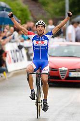 Winner Blaz Jarc at Slovenian National Championships in Road cycling, 178 km, on June 28 2009, in Mirna Pec, Slovenia. (Photo by Vid Ponikvar / Sportida)