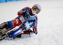 13.03.2016, Assen, BEL, FIM Eisspeedway Gladiators, Assen, im Bild Dmitry Koltakov (RUS) //  during the Astana Expo FIM Ice Speedway Gladiators World Championship in Assen, Belgium on 2016/03/13. EXPA Pictures &copy; 2016, PhotoCredit: EXPA/ Eibner-Pressefoto/ Stiefel<br /> <br /> *****ATTENTION - OUT of GER*****