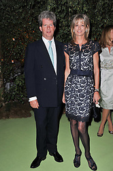 GUY & FIONA SANGSTER at a dinner hosted by Cartier in celebration of the Chelsea Flower Show held at Battersea Power Station, 188 Kirtling Street, London SW8 on 23rd May 2011.