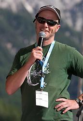 Andrej Dekleva at MTB Downhill European Championships, on June 13, 2009, at Kranjska Gora, Slovenia. (Photo by Vid Ponikvar / Sportida)
