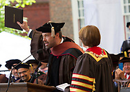 Benjamin Affleck, actor and director, address graduates after receiving a Doctor of Fine Arts from Brown University today at its 245th Commencement ceremonies on Sunday, May 26, 2013 in Providence, RI.