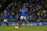 Portsmouth Midfielder, Jamal Lowe (10) goal scorer during the EFL Sky Bet League 1 match between Portsmouth and Southend United at Fratton Park, Portsmouth, England on 8 December 2018.