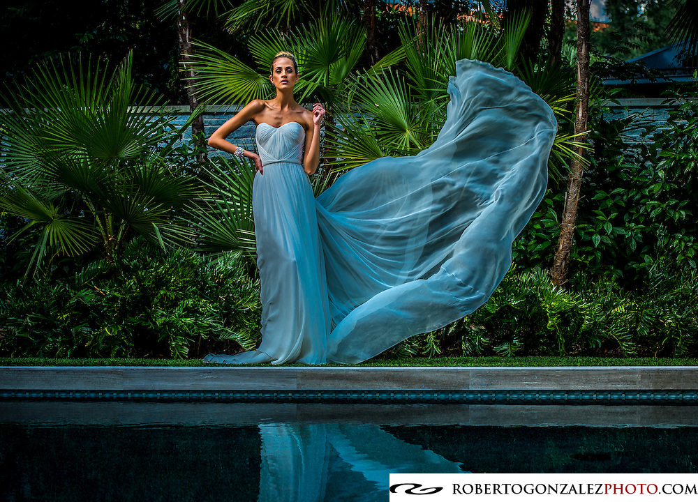 Wedding fashion at Phil Keane home, Photo by Roberto Gonzalez