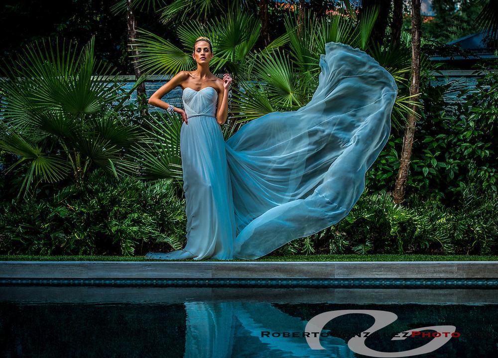 Wedding fashion at Phil Keane home, Photo by Roberto Gonzalez