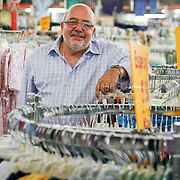 HIALEAH, FLORIDA - JUNE 24, 2016<br /> Serafin Blanco, owner of Noooo (&ntilde;oooo) Que Barato, stands in the middle of his large store floor in Hialeah, Florida. The store sells all kinds of goods and is a very popular stop for Cubans who are traveling to Cuba to stock up on supplies to carry to relatives in the island nation.<br /> (Photo by Angel Valentin/Freelance)